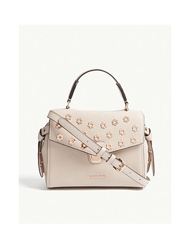 Bristol Small Grained Leather Satchel by Michael Michael Kors