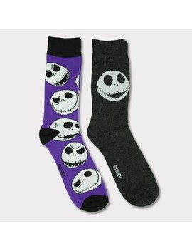 Nightmare Before Christmas 2pk Crew Socks by Nbc