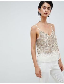 Asos Design   Caraco Orné De Sequins by Asos Design