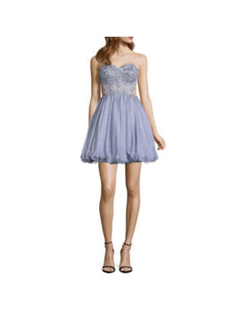 City Triangle Prom Sleeveless Party Dress Juniors by City Triangle