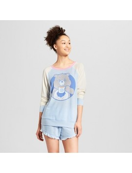 Care Bears Women's Grumpy Bear 2pc Pajama Set   Blue by Care Bears