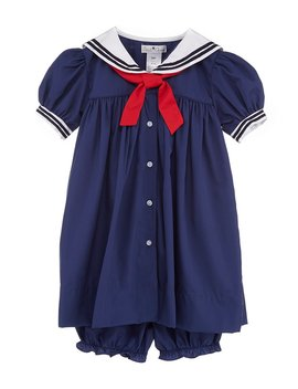Baby Girls 3 24 Months Nautical Sailor Dress by Petit Ami
