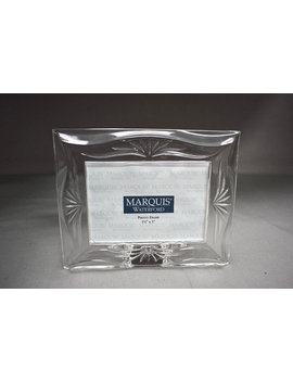 "Waterford Marquis Roselle Crystal Clear Glass Photo Frame 3.5"" X 5"" by Etsy"