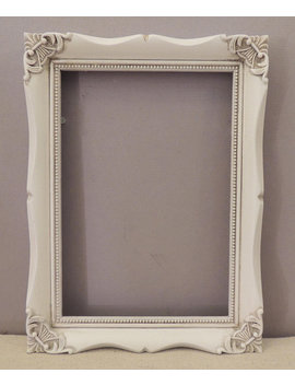 5x7 White Picture Frame, Ornate White Picture Frame, Frame With Glass, White Wedding Frame, Girls Room Frame, Baby Room Fame, Nursery Frame by Etsy