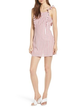 Acacia Stripe Ruffle Dress by The Fifth Label