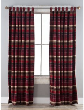 "North End Décor Boulder Creek Stripe Room Darkening Curtain Panels, 2 Panels (48"" X 84"" Each) Included by North End Décor"