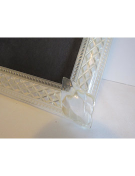 Vintage 8 X 10 Clear Lucite Plastic Lattice Wedding Frame Pinterest Wedding Art Deco Picture Photo Frame Gifts by Etsy
