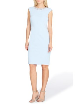 Embellished Sheath Dress by Tahari