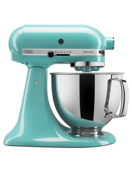 Kitchen Aid Artisan Series 5 Quart Tilt Head Stand Mixer, Aqua Sky (Ksm150 Psaq) by Kitchen Aid