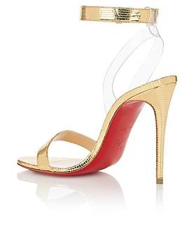 Jonatina Leather & Pvc Sandals by Christian Louboutin