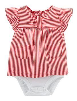 Striped Double Decker Bodysuit by Carter's