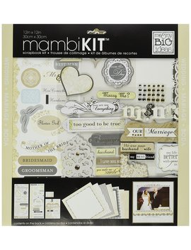 Me & My Big Ideas Scrapbook Page Kit, Forever Our Marriage, 12 Inch By 12 Inch by Me & My Big Ideas