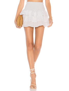 X Revolve Eyelet Skirt by Lolli Swim