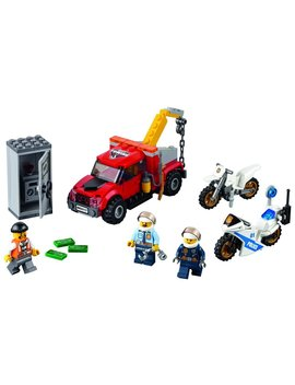 Lego City Police Tow Truck Trouble 60137 Building Toy by Lego