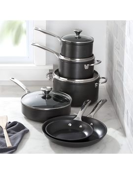 Le Creuset ® 10 Piece Toughened Nonstick Cookware Set by Crate&Barrel