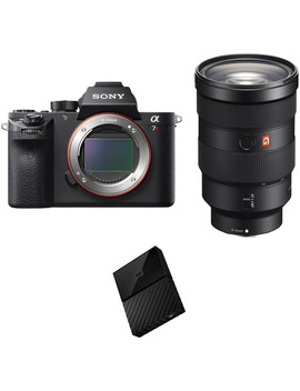 Alpha A7 R Ii Mirrorless Digital Camera With 24 70mm F/2.8 Lens And Storage Kit by Sony