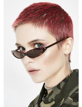 Supa Fly Micro Cat Eye Sunglasses by Replay