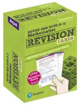 Revise Aqa Gcse (9 1) Mathematics Foundation Revision Cards: Includes Free... by Ebay Seller