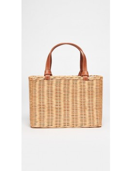 Mini Jill Wicker Bag by J.Mc Laughlin