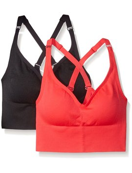 Spalding Women's 2 Pack Sports Bra by Spalding
