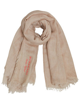 Embroidered Cashmere Cotton Scarfhome Women Accessories Scarves by Burberry