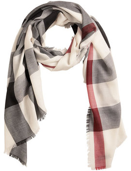 Lightweight Check Scarfhome Women Accessories Scarves by Burberry