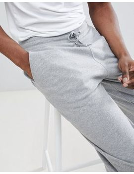 Asos Design Standard Joggers With Turn Up Hem In Grey Marl by Asos Design