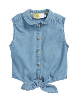 Tie Front Top by Mini Boden
