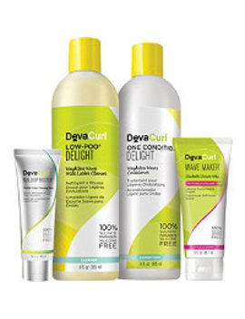 How To Quit Shampoo Kit For Effortless Waves by Deva Curl