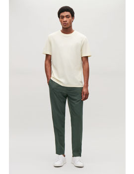 Elasticated Slim Fit Trousers by Cos