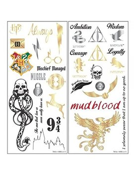 Harry Potter Temporary Tattoo Set Standard by Harry Potter