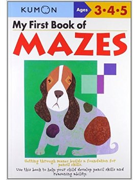 My First Book Of Mazes by Amazon