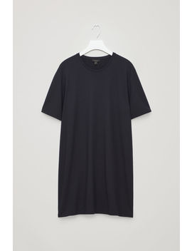 Long Round Neck T Shirt by Cos