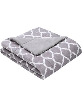 Home Essence Ogee Oversized Down Alternative Throw by Home Essence