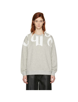 Grey 'chloe Writing' Sweatshirt by ChloÉ