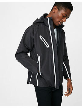 Water Resistant Reflector Jacket by Express