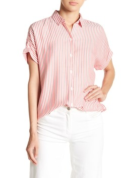 Spencer Stripe Blouse by Beach Lunch Lounge