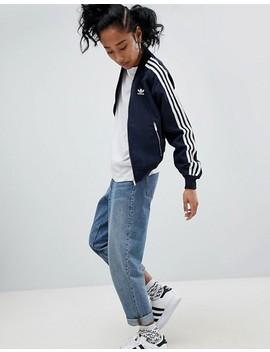 Adidas O Riginals Three Stripe Track Jacket by Adidas