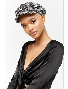 Tweed Cabby Hat by Forever 21