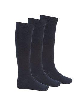 Bay 6 Kids Plain Cotton Rich Knee High School Socks by Amazon