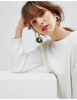 Asos – Geometrische Ohrringe Aus Metall In Gefärbtem Design by Asos Collection
