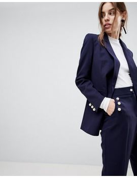 Asos – Blazer Mit Perlenknöpfen by Asos Collection