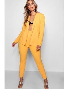 Ella Crepe Fitted Suit by Boohoo