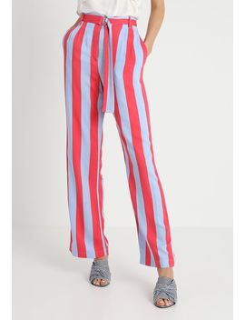 Candystrpe Wide Leg   Stoffhose by Topshop