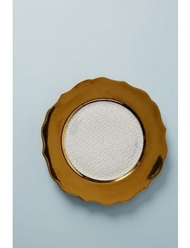 Plie Dinner Plate by Patina Vie