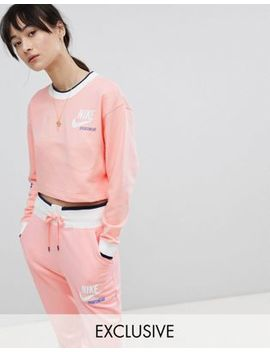 Nike Exclusive To Asos Archive Reversible Logo Sweatshirt by Nike