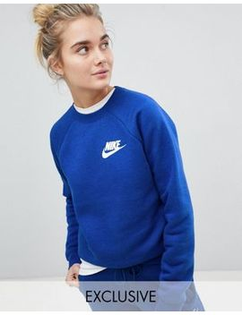 Nike Exclusive To Asos Rally Sweatshirt In Blue by Nike