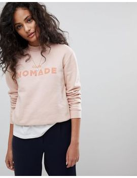 Maison Scotch Club Nomade Crewneck Sweatshirt by Maison Scotch