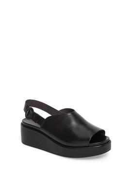 Misia Slingback Platform Wedge Sandal by Camper