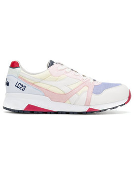 Colour Block Sneakershome Men Shoes Trainers by Diadora